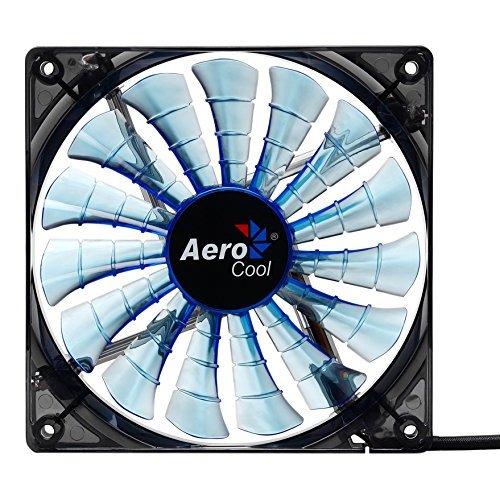 Купить Системы охлаждения, Aerocool Shark Fan LED Blue 120mm Black