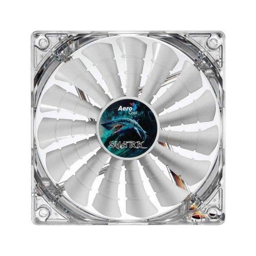 Купить Системы охлаждения, Aerocool Shark Fan LED White 120mm