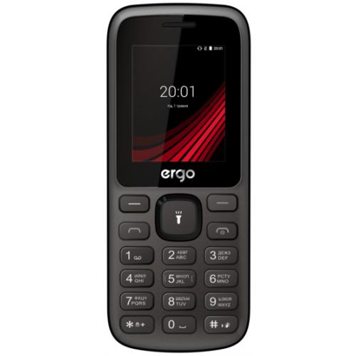 Фото Мобильный телефон ERGO F185 Speak Dual Sim Black