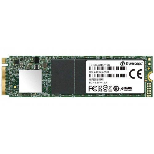 Фото SSD-диск Transcend MTE110 128GB M.2 (2280 PCI-E) (TS128GMTE110S)