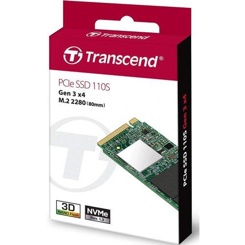 Фото SSD-диск Transcend MTE110 256GB M.2 (2280 PCI-E) (TS256GMTE110S)