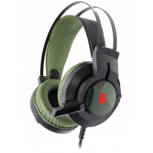 Фото Игровая гарнитура A4Tech Bloody J437 Army Green