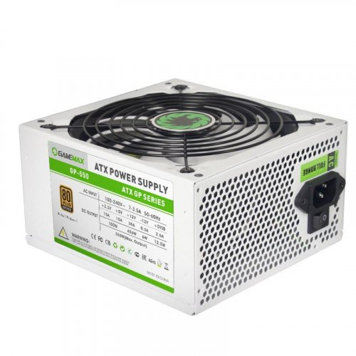 Фото Блок питания GAMEMAX GP-550 550W (GP-550) White