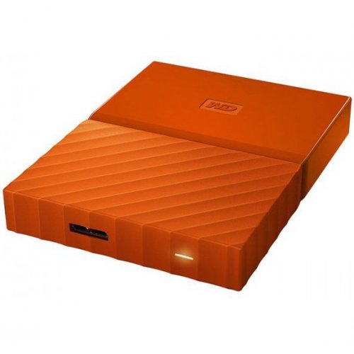 Фото Внешний HDD Western Digital My Passport 2TB (WDBS4B0020BOR-WESN) Orange