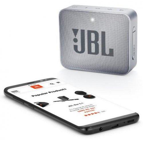 Фото Портативная акустика JBL GO 2 Grey