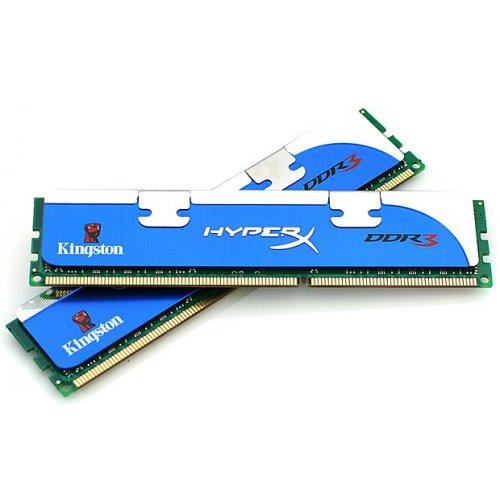 Фото ОЗУ Kingston DDR3 4GB (2x2GB) 1600MHz HyperX FURY (KHX1600C9D3K2/4G)