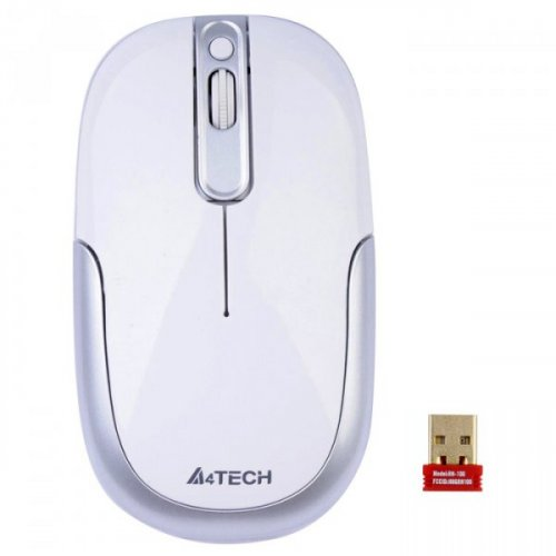 Купить Мышки, A4Tech G9-110 HX-2 Wireless Silver/White
