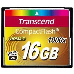 Фото Карта памяти Transcend CF 16GB (1000x) (TS16GCF1000)