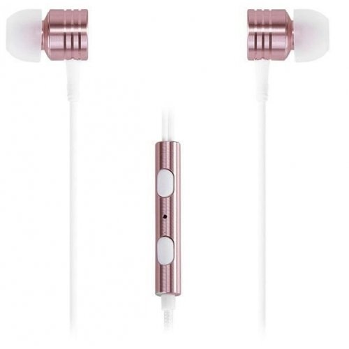 Фото Наушники 1more Piston Classic Mic E1003 Rose Gold