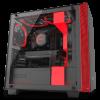 NZXT H400i (CA-H400W-BR) Matte Black/Red