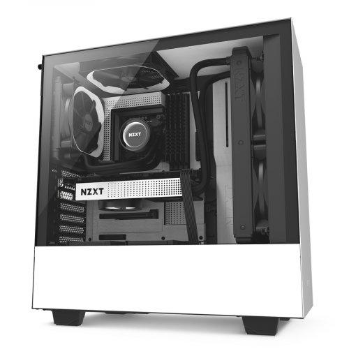 Фото NZXT H500 (CA-H500B-W1) White/Black