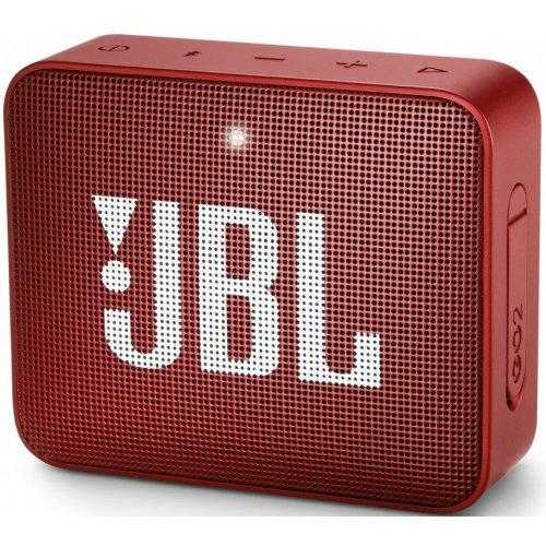 Купить Портативная акустика, JBL GO 2 Ruby Red