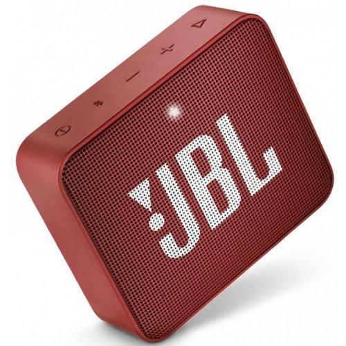 Фото Портативная акустика JBL GO 2 Ruby Red