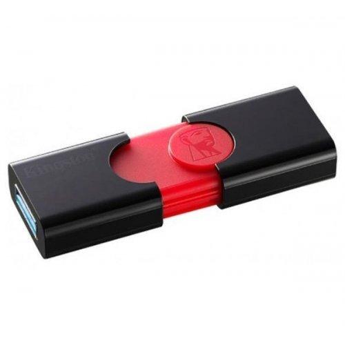 Фото Накопитель Kingston DataTraveler 106 16GB USB 3.0 (DT106/16GB) Black/Red
