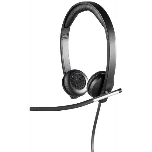 Купить Наушники, Logitech H650e USB Headset (981-000519) Black