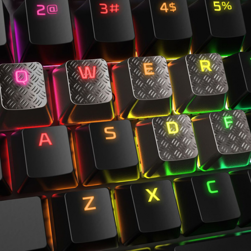 Фото Сменные клавиши HyperX FPS & MOBA Gaming Keycaps Upgrade Kit (HXS-KBKC2) Titanium