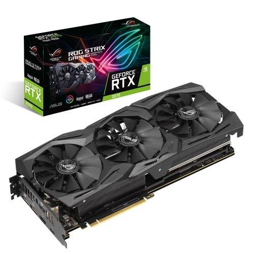 Фото Видеокарта Asus ROG GeForce RTX 2070 STRIX Advanced edition 8192MB (ROG-STRIX-RTX2070-A8G-GAMING)
