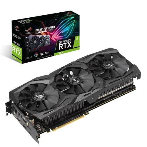 Фото Видеокарта Asus ROG GeForce RTX 2070 STRIX OC 8192MB (ROG-STRIX-RTX2070-O8G-GAMING)