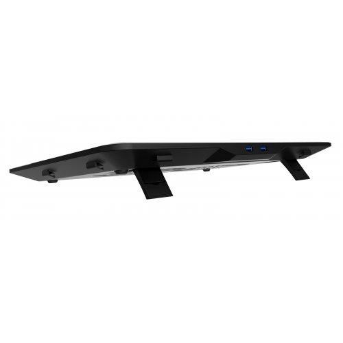 Фото Підставка для ноутбука Deepcool N80 RGB Black