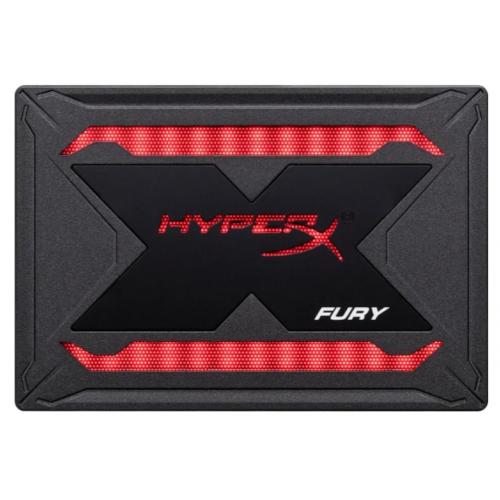 Фото SSD-диск Kingston HyperX Fury RGB 3D TLC 480GB 2.5
