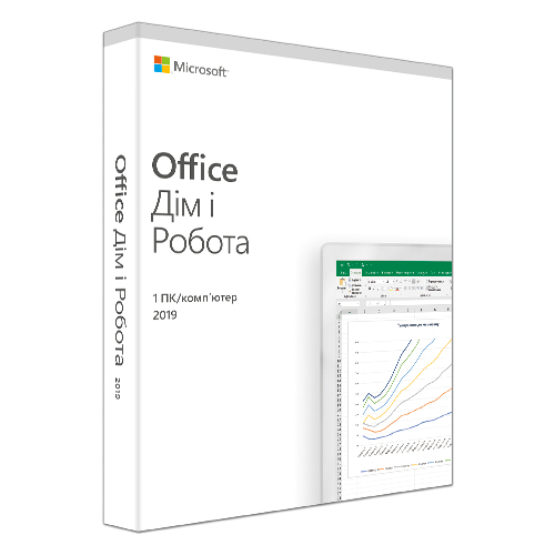 Фото Офисное приложение Microsoft Office Home and Business 2019 Russian Medialess (T5D-03248)