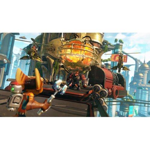 Фото Игра для PS4 Ratchet & Clank RU (PS4) Blu-ray