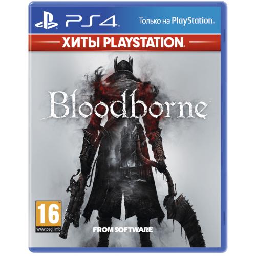 Фото Игра для PS4 Bloodborne RU-subtitles (PS4) Blu-ray