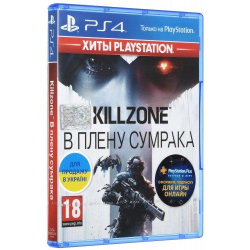 Фото Игра для PS4 Killzone: В плену сумрака RU (PS4) Blu-ray