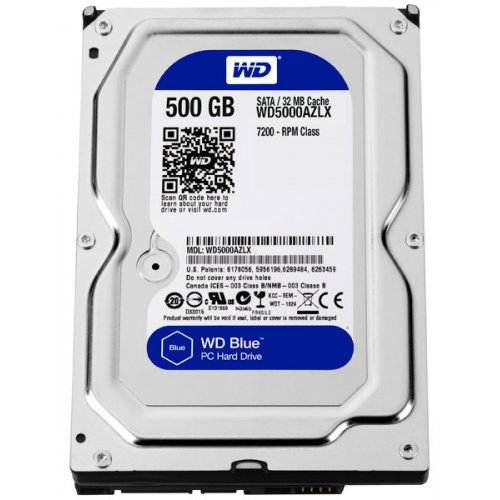 Фото Жесткий диск Western Digital Blue 500GB 32MB 3.5