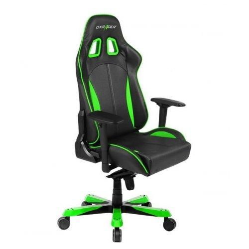 Фото Игровое кресло DXRacer King (OH/KS57/N) Black/Green