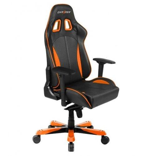 Фото Игровое кресло DXRacer King (OH/KS57/N) Black/Orange