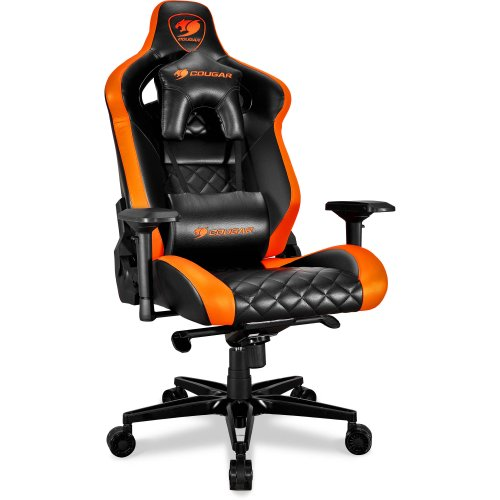 Фото Кресло Cougar ARMOR TITAN Gaming Chair Black/Orange
