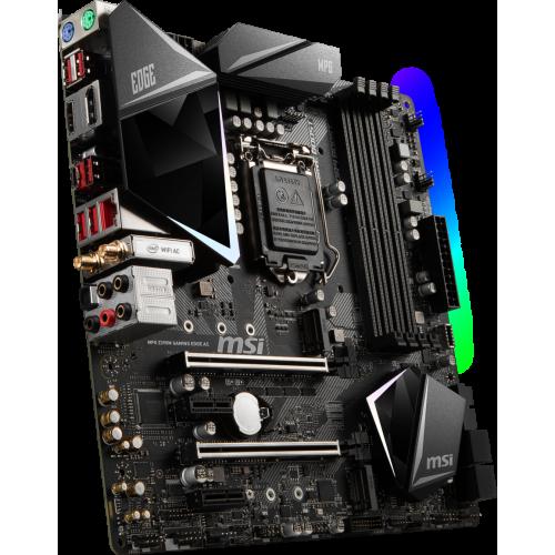 Фото Материнская плата MSI MPG Z390M GAMING EDGE AC (s1151-v2, Intel Z390)