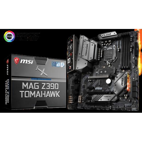 Фото Материнская плата MSI MAG Z390 TOMAHAWK (s1151-v2, Intel Z390)