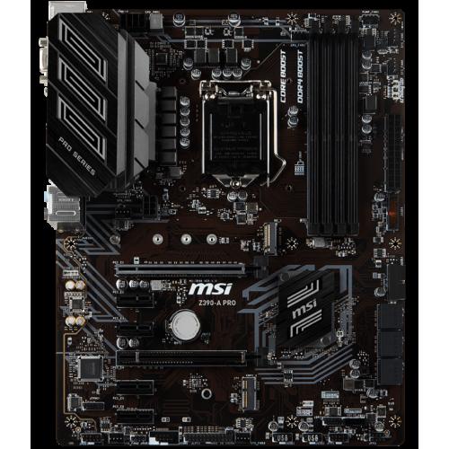 Фото Материнская плата MSI Z390-A PRO (s1151-v2, Intel Z390)