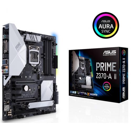 Фото Материнская плата Asus PRIME Z370-A II (s1151-v2, Intel Z370)