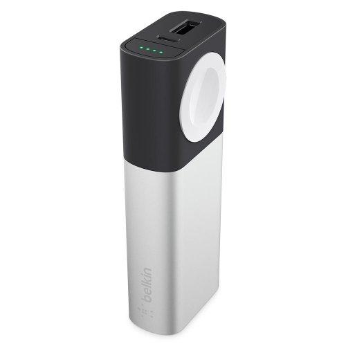 Фото Внешний аккумулятор Belkin Power Bank Valet Charger 6700 mAh (F8J201btSLV) Black/Silver
