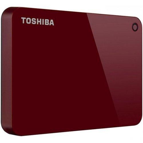 Фото Внешний HDD Toshiba Canvio Advance 2TB (HDTC920ER3AA) Red
