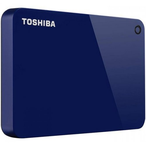 Фото Внешний HDD Toshiba Canvio Advance 2TB (HDTC920EL3AA) Blue