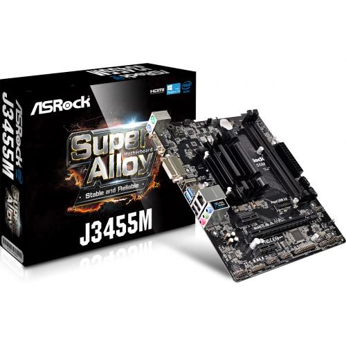 Фото Материнская плата AsRock J3455M (Intel J3455)