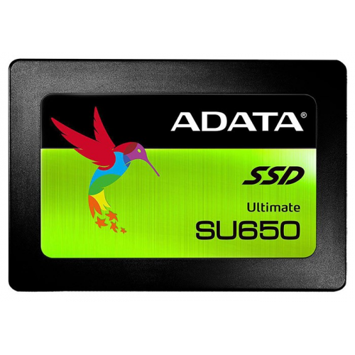 Фото SSD-диск ADATA Ultimate SU650 3D NAND TLC 240GB 2.5