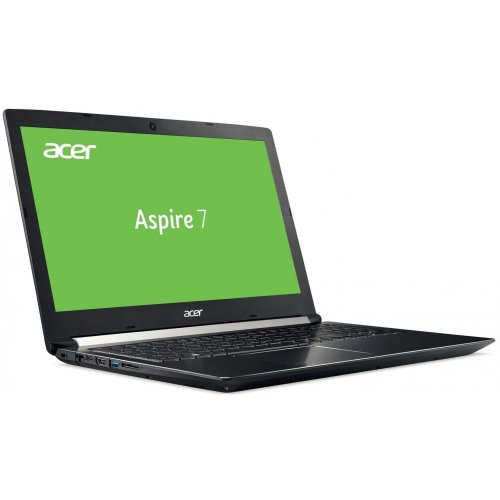 Фото Ноутбук Acer Aspire 7 A715-72G-53NU (NH.GXBEU.014) Obsidian Black