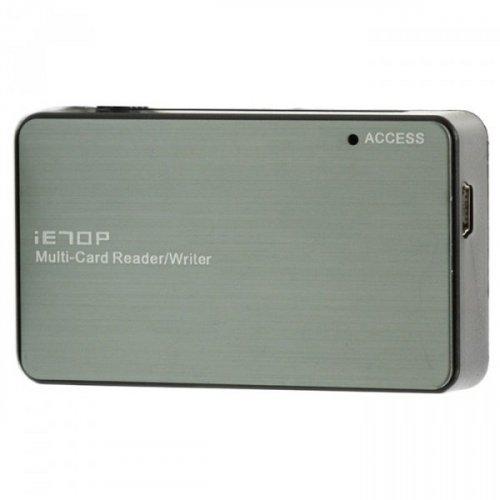 Фото Кардридер ATcom TD2053 USB 2.0 microSD/TF (16114) Metal
