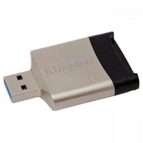 Фото Кардридер Kingston MobileLite G4 USB 3.0 microSD/HC/XC (FCR-MLG4)