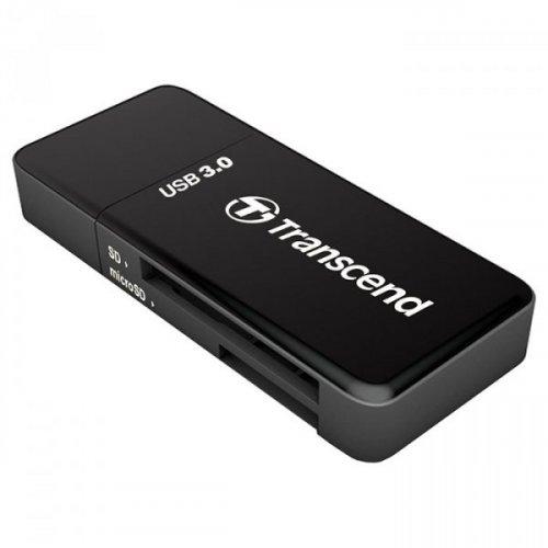 Фото Кардридер Transcend Cardreader 5-in-1 USB 3.0 microSD/HC/XC (TS-RDF5K) Black