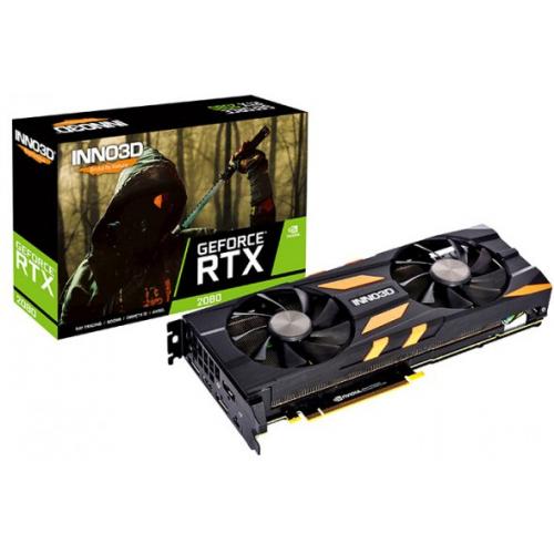 Фото Видеокарта Inno3D GeForce RTX 2080 X2 OC 8192MB (N20802-08D6X-1180633)
