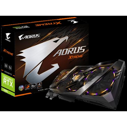 Фото Видеокарта Gigabyte GeForce RTX 2080 AORUS Xtreme Edition 8192MB (GV-N2080AORUS X-8GC)
