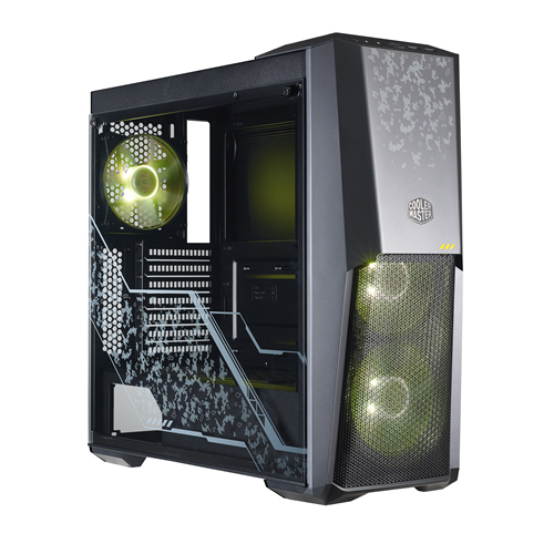 Фото Корпус Cooler Master MasterBox MB500 TUF Edition RGB Window без БП (MCB-B500D-KGNN-TUF) Black