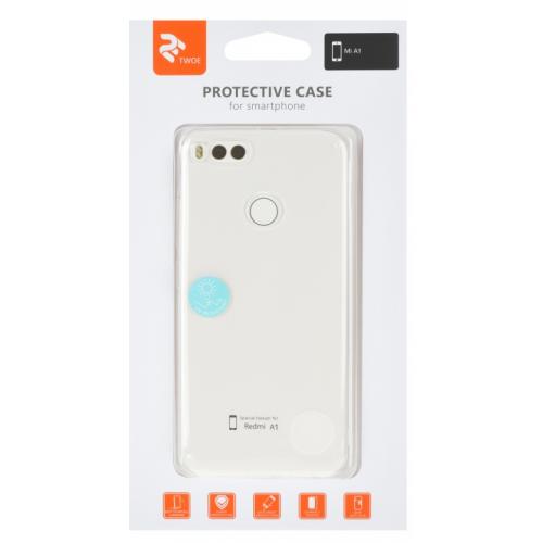 Фото Чехол 2E для Xiaomi Mi A1 TPU Case (2E-MI-A1-17-MCTTR) Transparent