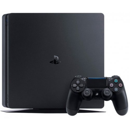 Фото Sony PlayStation 4 Slim 1TB Red Dead Redemption 2 (9760016) Black